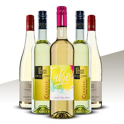 Halbtrockener Weißwein